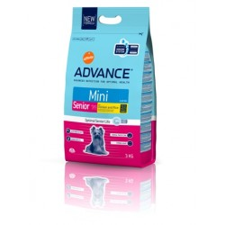 PIENSO PERRO ADVANCE MINI SENIOR, 3 KG