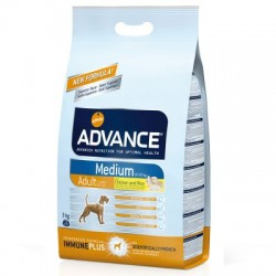 PIENSO PERRO ADVANCE MEDIUM ADULT, 3 KG