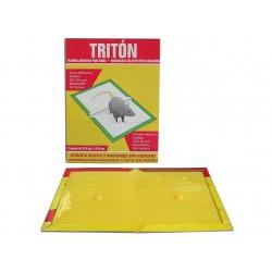 TRITON TRAMPAS ADHESIVAS PARA RATAS, 2 DE 24.5X18.5 CM