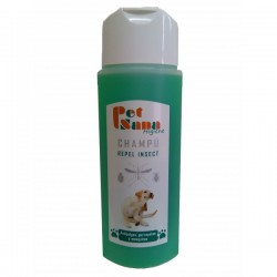 CHAMPU PERRO ANTIPARASITARIO PET SANA, 250 ML