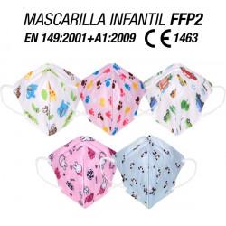 MASCARILLA  FFP2 INFANTIL CAJA 10 UNIDADES