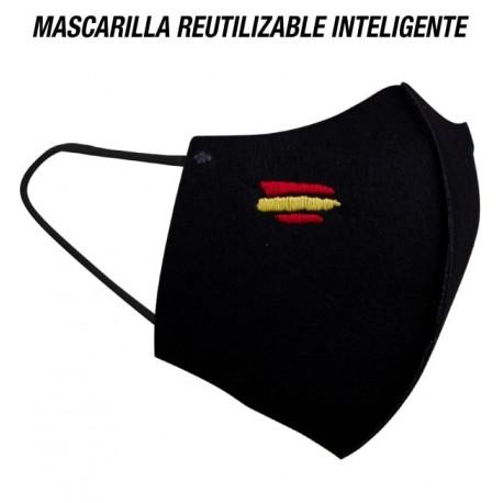 MASCARILLA INTELIGENTE TEXTIL LAVABLE (ESPAÑA)